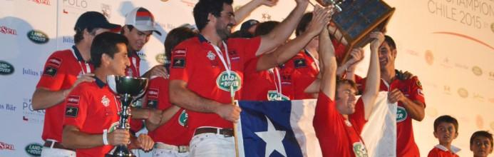Em casa, Chile conquista Mundial de Polo
