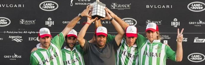 Dubai Polo fica com o título da Copa de Ouro na Espanha