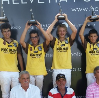 Polo Brasil conquista a Helvetia Kids Cup