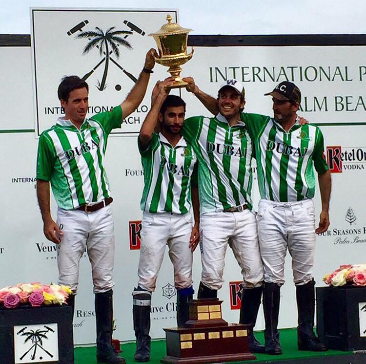 Equipe Dubai ficou com o título da USPA Gold Cup (crédito da foto - United States Polo Association)