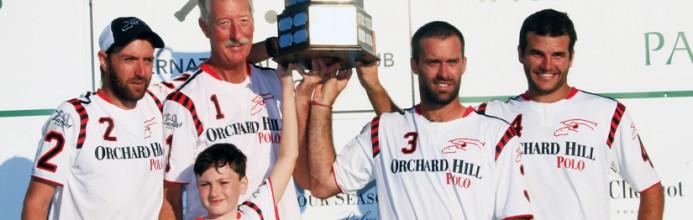 Orchard Hill fica com o troféu da C.V. Whitney Cup